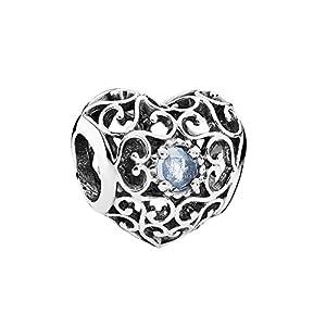 PANDORA March Signature Heart 791784NAB