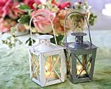Kate Aspen 14006SV Luminous Mini Lanterns, Silver