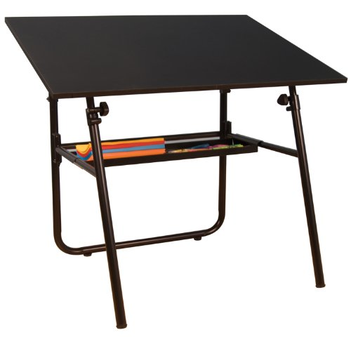Folding Drafting Table front-1003413