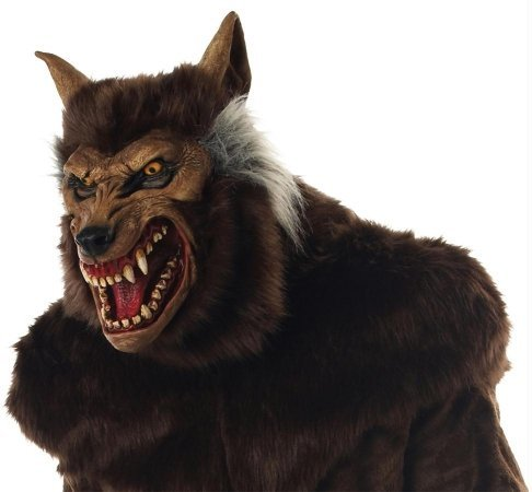 Costumes For All Occasions Mr035011 Werewolf Deluxe Mask
