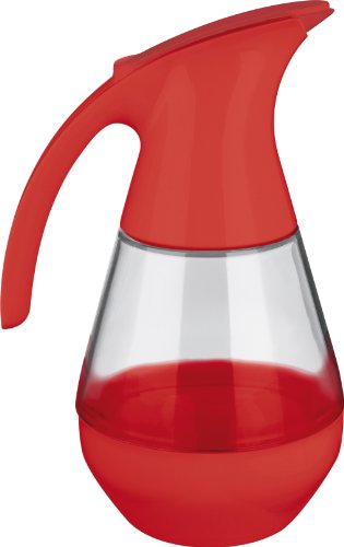 Trudeau Microwave Safe Red Syrup Dispenser (Syrup Dispenser Microwave compare prices)