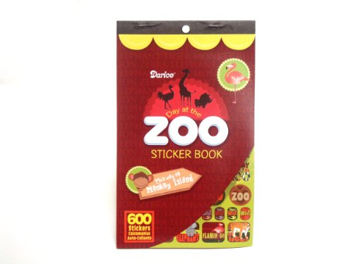 WeGlow International Sticker Book - Zoo Animals (Pack Of 4)