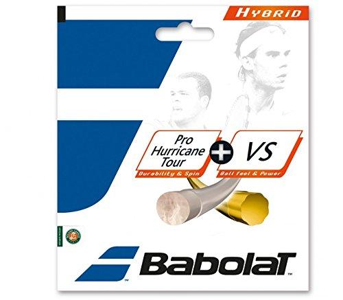 バボラ(BabolaT) ガット プロハリケーンツアー125+VS130 単張りガット BA281030