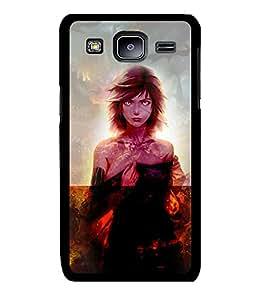 Fuson 2D Printed Girly Designer back case cover for Samsung Galaxy J3 - D4622