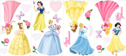 Disney Princess GAPP1759 self stick room appliques