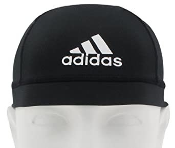 adidas Football Skull Cap (Black, One Size)