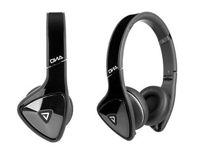 Monster cable 123949-00 Monstern - DNA ON-EAR HEADPHONEES - BLACK/CHROME/DARK GRAY