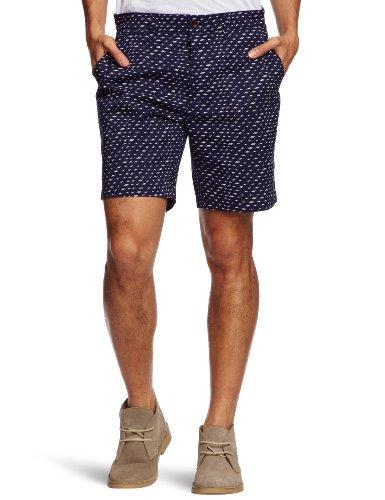 Farah Vintage The Rigby Men's Shorts Dark Indigo W36 IN