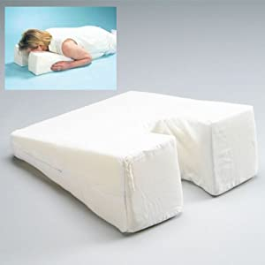 Hermell Products Small Face Down Pillow