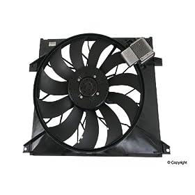 Genuine 1635000293 Engine Cooling Fan Motor