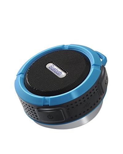 Altavoz Powersound Bluetooth Waterproof Azul