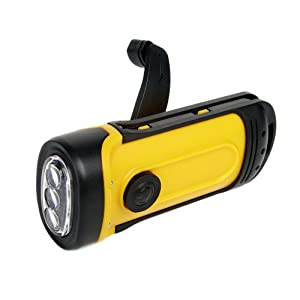 Wind 'N Go Waterproof Flashlight (Yellow/Black)