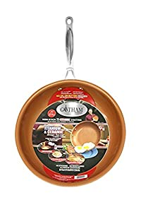 GOTHAM STEEL 11 inches Non-stick Titanium Frying Pan by Daniel Green 3-Pack