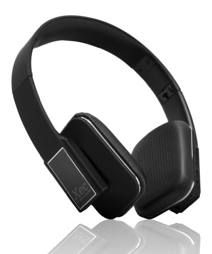 RevJams Xec On Ear HD Wireless Bluetooth Stereo Headphones with In-line Microphone, Black RevJams Bluetooth Headsets autotags B00HNALSS8