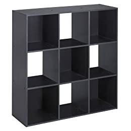 Product Image ClosetMaid Cubeicals® Cubeicals 9 Cube Organizer Black Ash