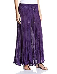 Biba Cotton Pyjama (Farshi Loungers # 10362_Purple_Small)