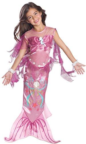Child's Pink Mermaid Costume, Small