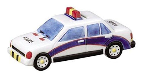 Andrea by Sadek Ceramic Police Car Coin Bank
