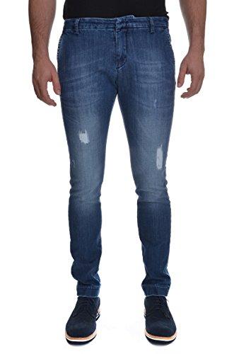 <p>MICHAEL COAL Jeans con rotture cucite uomo, MC102JEANS UNI jeans chiaro, slim</p>