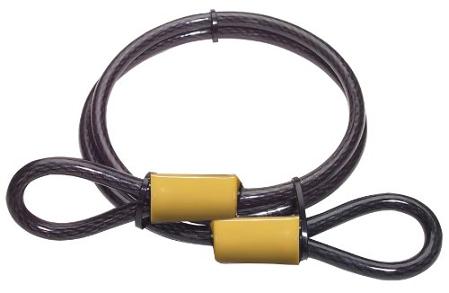 Master Lock 85DPF Looped Cable, 4-Foot x 3/8-inch
