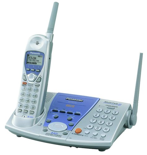 Panasonic KX-TG2720S 2.4 GHz DSS 2-Line Expandable Cordless Speakerphone with Caller ID