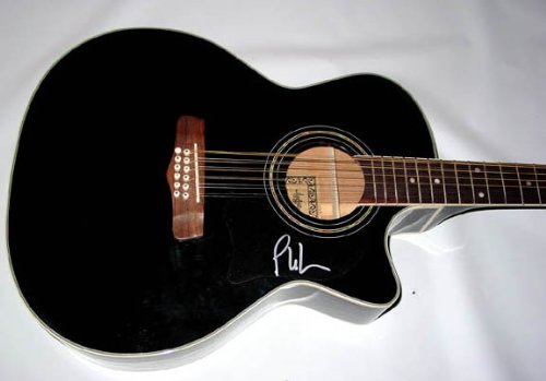 Phil Vassar Signed 12-String Acoustic Electric Guitar Psa/Dna