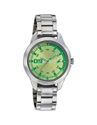 Fastrack Green Dial Analog Watch For Women-6129SM02