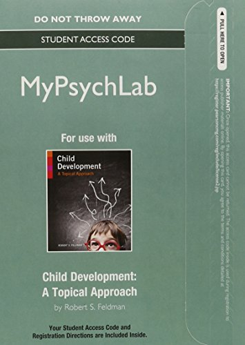 NEW MyPsychLab without Pearson eText -- Standalone Access Card -- for Child Development: A Topical Approach (Distribution And Development compare prices)