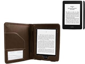 Housse étui Navitech pour la nouvelle liseuse Kindle « basic » actuellement en vente pour 59€! (marron)