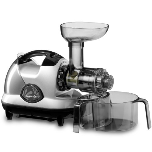 Find Bargain Kuvings NJE-3580U Masticating Slow Juicer, Silver
