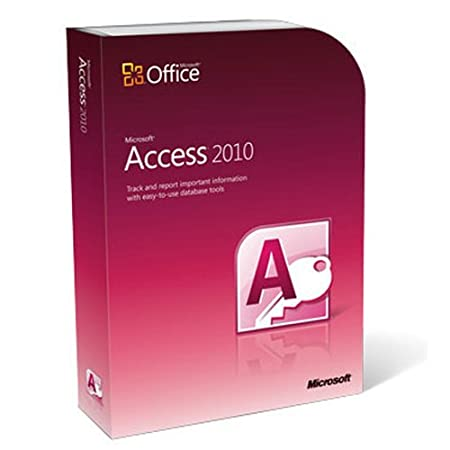 Microsoft Access 2010 (PC DVD)