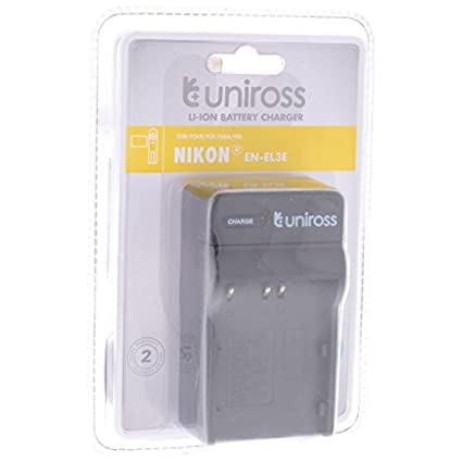 Uniross-Battery-Charger-(For-Nikon-ENEL3E)