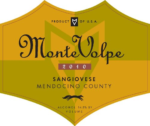 2010 Graziano Family Of Wines Monte Volpe Sangiovese 750 Ml