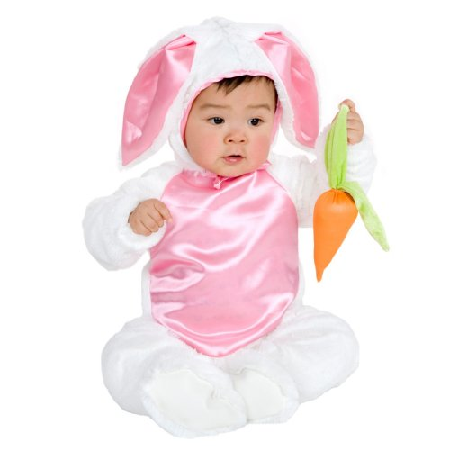 Child Sm. (6-8)- Cute Little Plush Bunny Costume