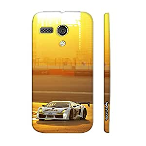 Motorola Moto G 1st Gen Race Until Sundown designer mobile hard shell case by Enthopia