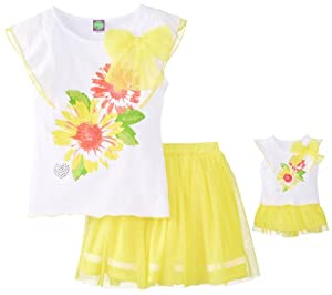 Dollie & Me Girls 7-16 2-Piece Skirt Set from Dollie & Me