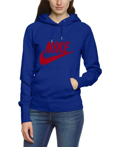 NIKE Damen Kapuzenpullover Limitless Exploded, blue, XS, 503542-409