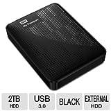 Western Digital My Passport 2 TB USB 3.0 Portable Hard Drive -WDBY8L0020BBKNESN (Black)