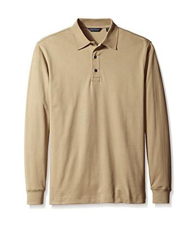 Scott Barber Men's Three Button Polo