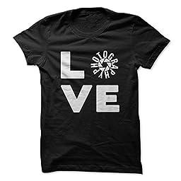 I Love Photography Shirt Love Photography (Medium,Black)