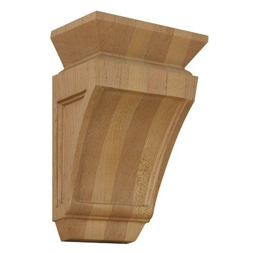 Brown Wood Inc. 01601201SM1 Mission Decorative Wood Corbel, Soft Maple