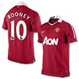 10-11 Man Utd Home Jersey + Rooney 10-S
