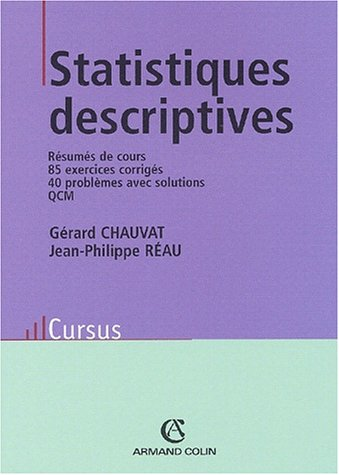 Statistiques descriptives (French Edition)