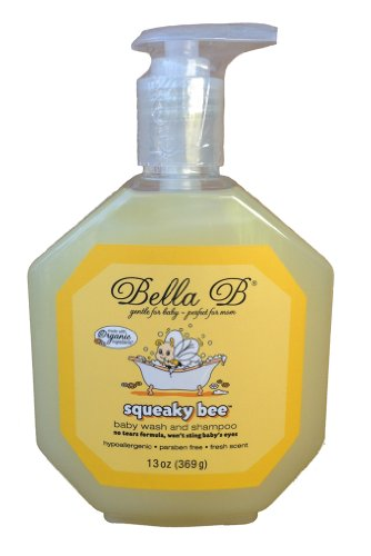 Bella B Squeaky Bee Bodywash and Shampoo, 13 Oz