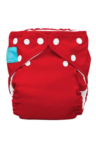 Charlie Banana 2-In-1 One Size Cloth Diaper (Red) front-43676