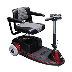 Revo 3 Wheel Electric Scooter, Red