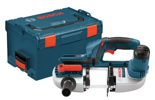 Bosch Bare-Tool BSH180BL 18-Volt Lithium-Ion Compact Band Saw  with L-BOXX-3 and Exact-Fit Tool Insert Tray