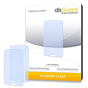 DisGuard Protective Screen Film for Samsung Galaxy Grand 2 Duos Grand II Duo S Premium Quality Made in Germany