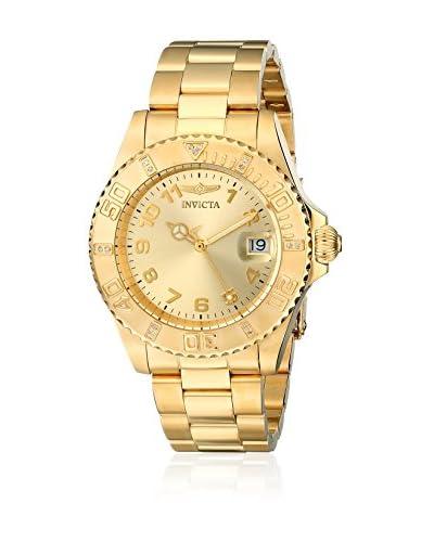Invicta Reloj con movimiento cuarzo suizo Pro Diver 15249 Dorado