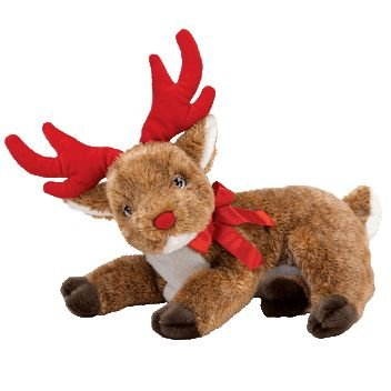 TY Beanie Buddy - ROXIE the Reindeer - 1